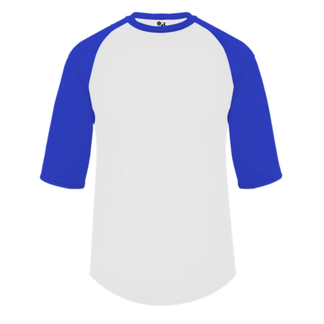 White/Royal Baseball